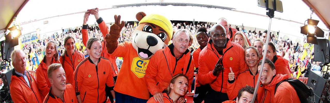 Cruyff Foundation open dag